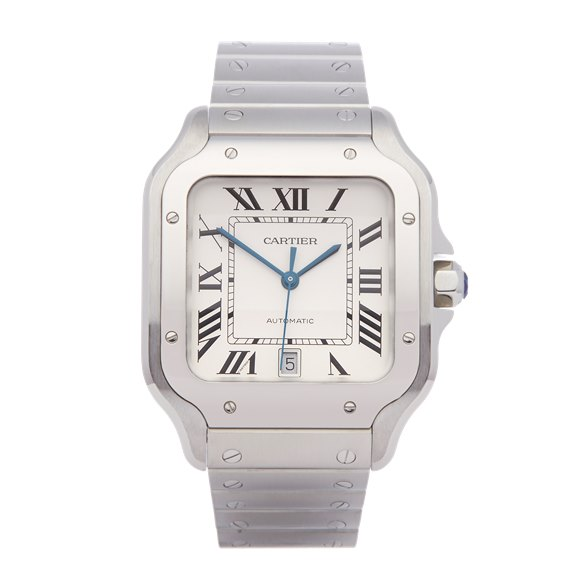 Cartier Santos De Cartier Stainless Steel - 4072 or WSSA0009