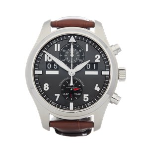 IWC Spitfire Perpetual Calendar Stainless Steel - IW379107