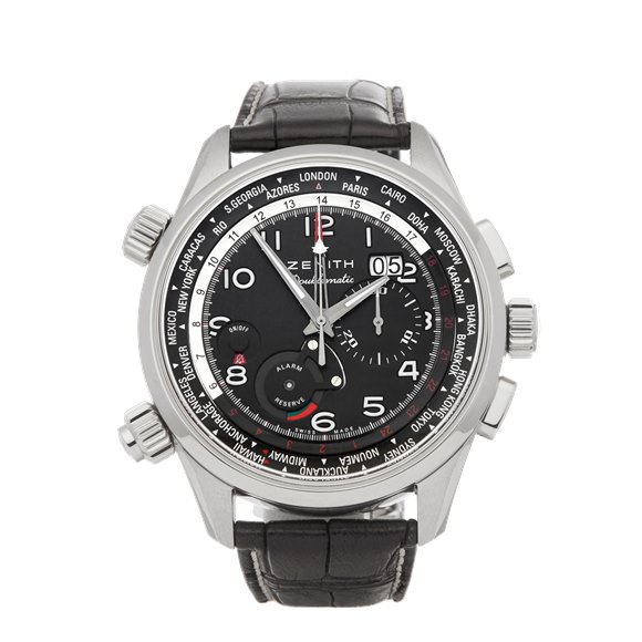 Zenith Doublematic Chronograph Stainless Steel - 03.2400.4046/21.C721
