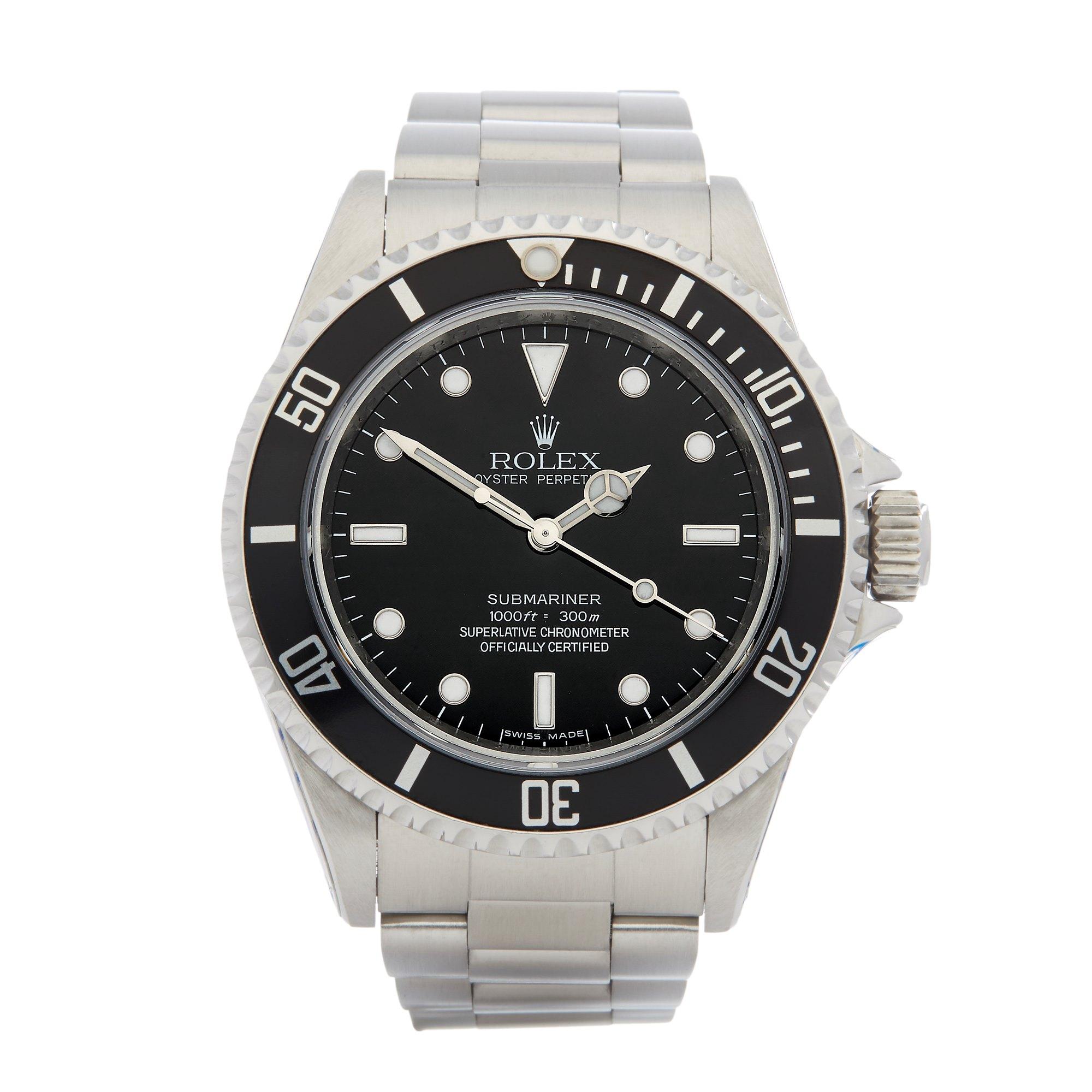 Rolex Submariner Non Date Stainless Steel 14060M