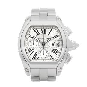 Cartier Roadster Chronograph Stainless Steel - 2618