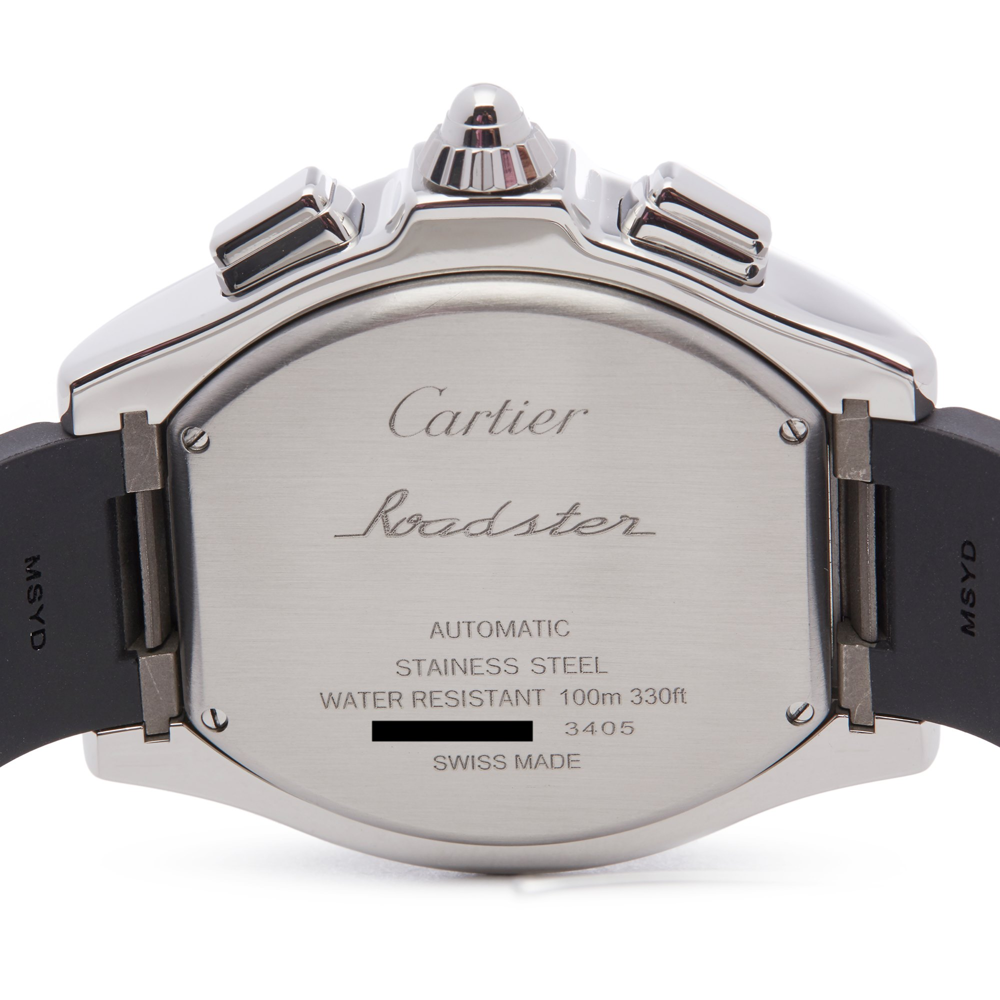 Cartier Roadster Chronograph Stainless Steel 3405