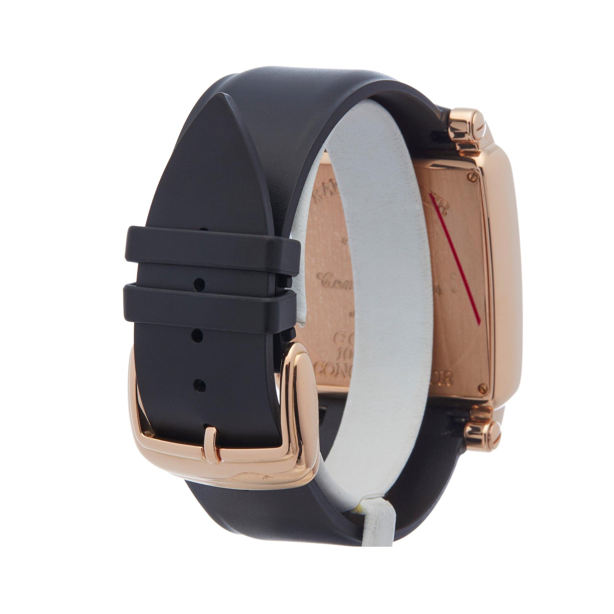 Franck Muller Conquistador Cortez Chronograph 18K Rose Goud 10000 H CC
