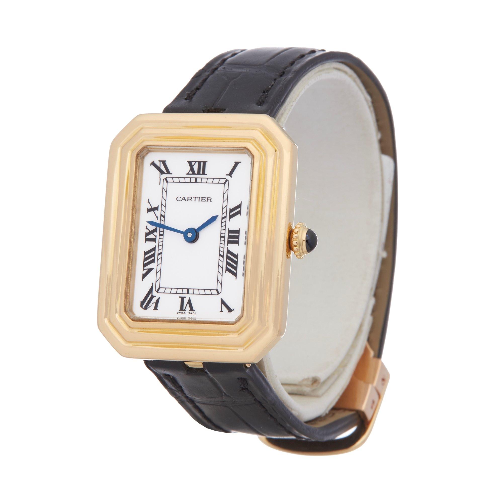 Cartier Cristallor Paris Mecanique 18K Yellow Gold