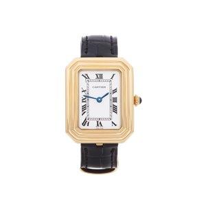Cartier Cristallor Paris Mecanique 18K Yellow Gold - 7809