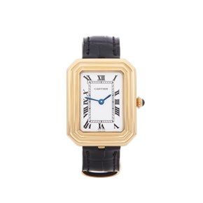 Cartier Cristallor Paris Mecanique 18K Yellow Gold