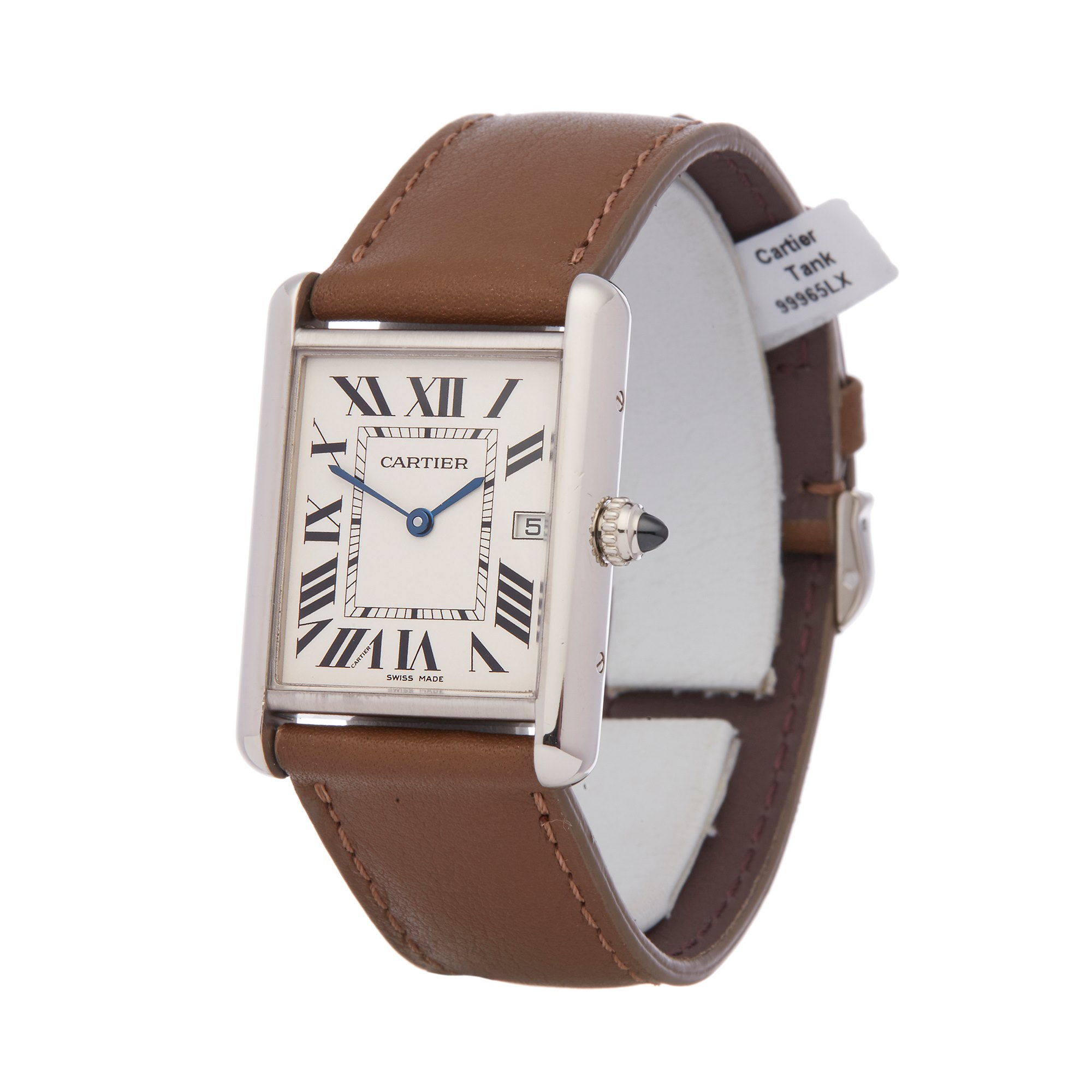 Cartier Tank Louis 18K White Gold 2678 or W1540956