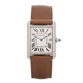 Cartier Tank Louis 18K White Gold - 2678 or W1540956