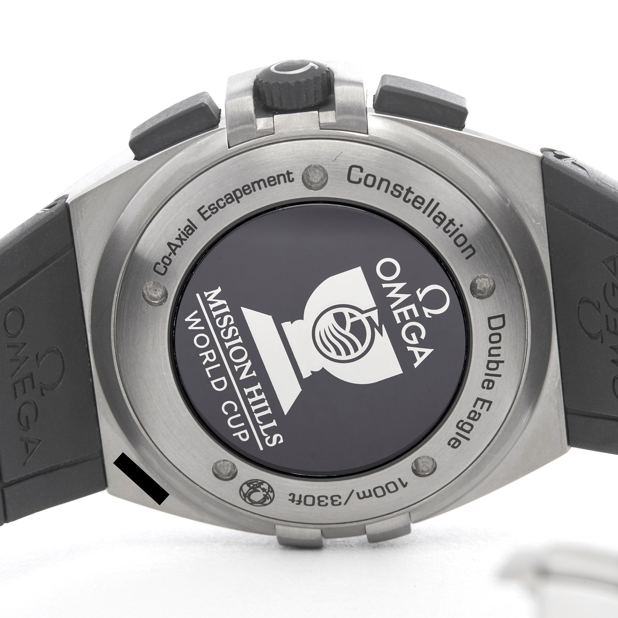 Omega Constellation Double Eagle Mission Hills World Cup Chronograph Titanium 121.92.41.50.01.001