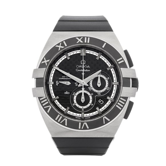 Omega Constellation Double Eagle Mission Hills World Cup Chronograph Titanium - 121.92.41.50.01.001