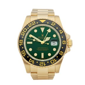 Rolex GMT-Master II 18K Yellow Gold - 116718LN
