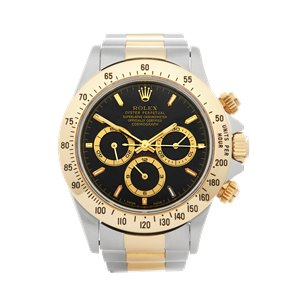 Rolex Daytona Chronograph 200 Bezel Zenith Stainless Steel & Yellow Gold - 16523