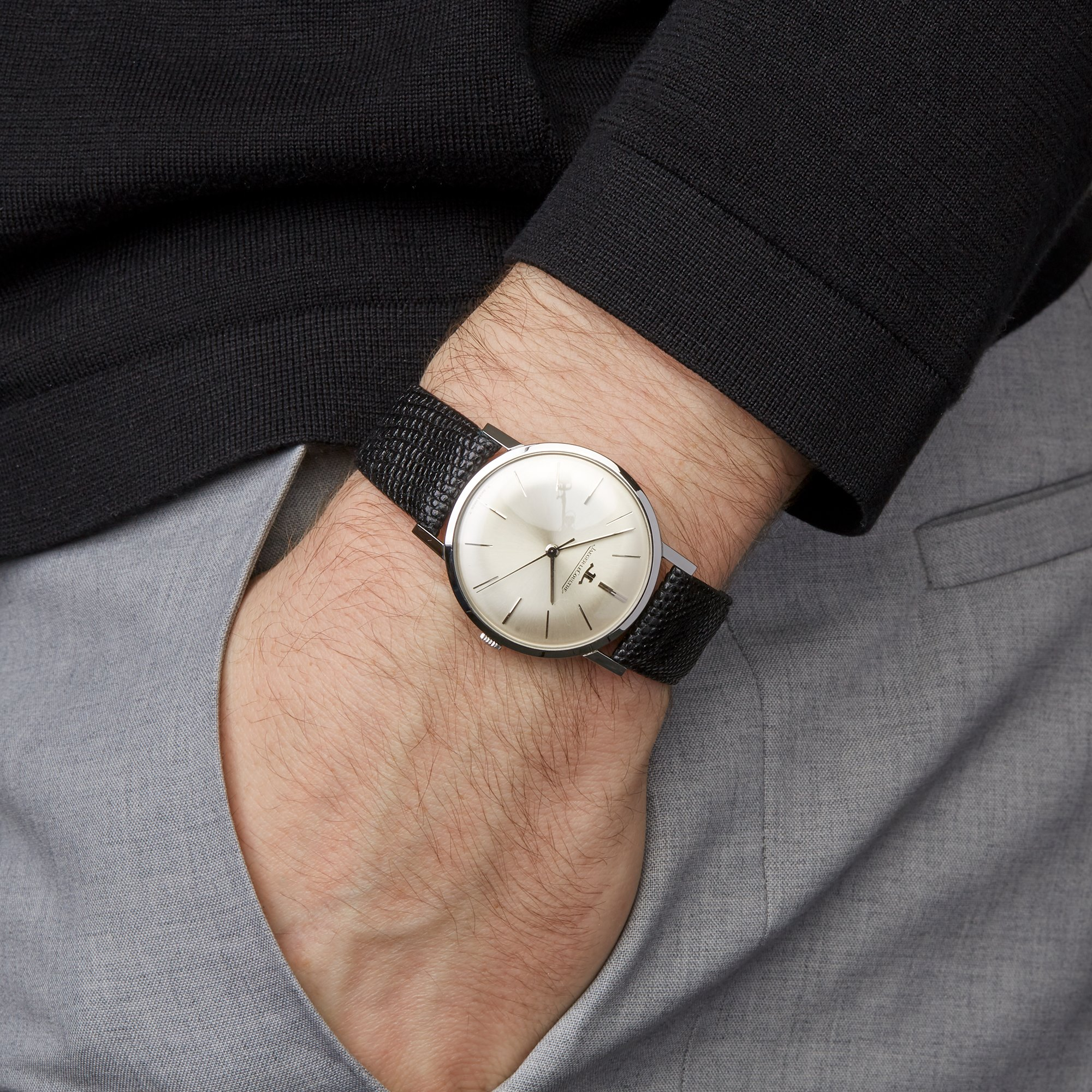 Jaeger-LeCoultre Vintage Ultra Thin Stainless Steel 20002