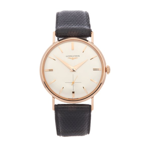 Longines Vintage 18K Rose Gold - 7422
