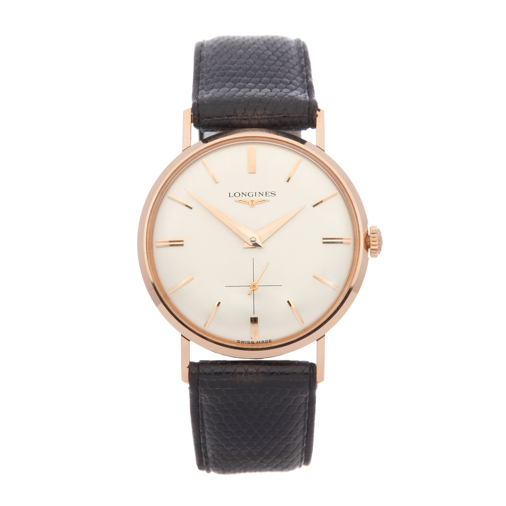 Longines Vintage 18K Rose Gold 7422
