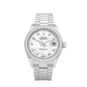 Rolex Datejust 28 Diamond Platinum - 279136RBR