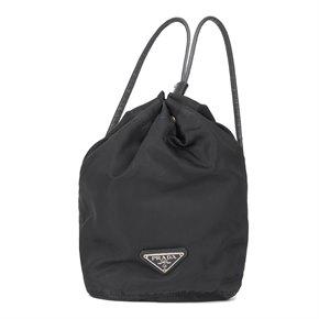 Prada Black Nylon Vintage Mini Backpack