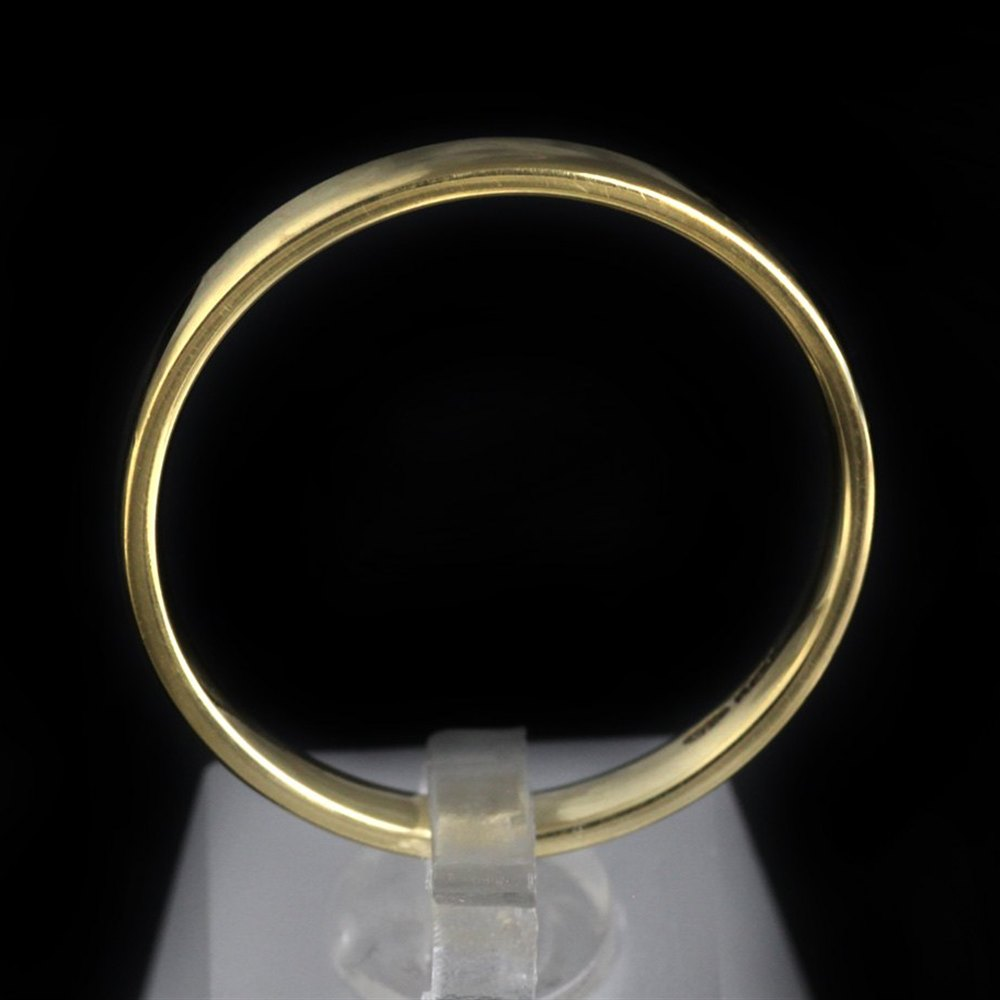 Mappin & Webb 18k Yellow Gold Wedding Band Mens Size W