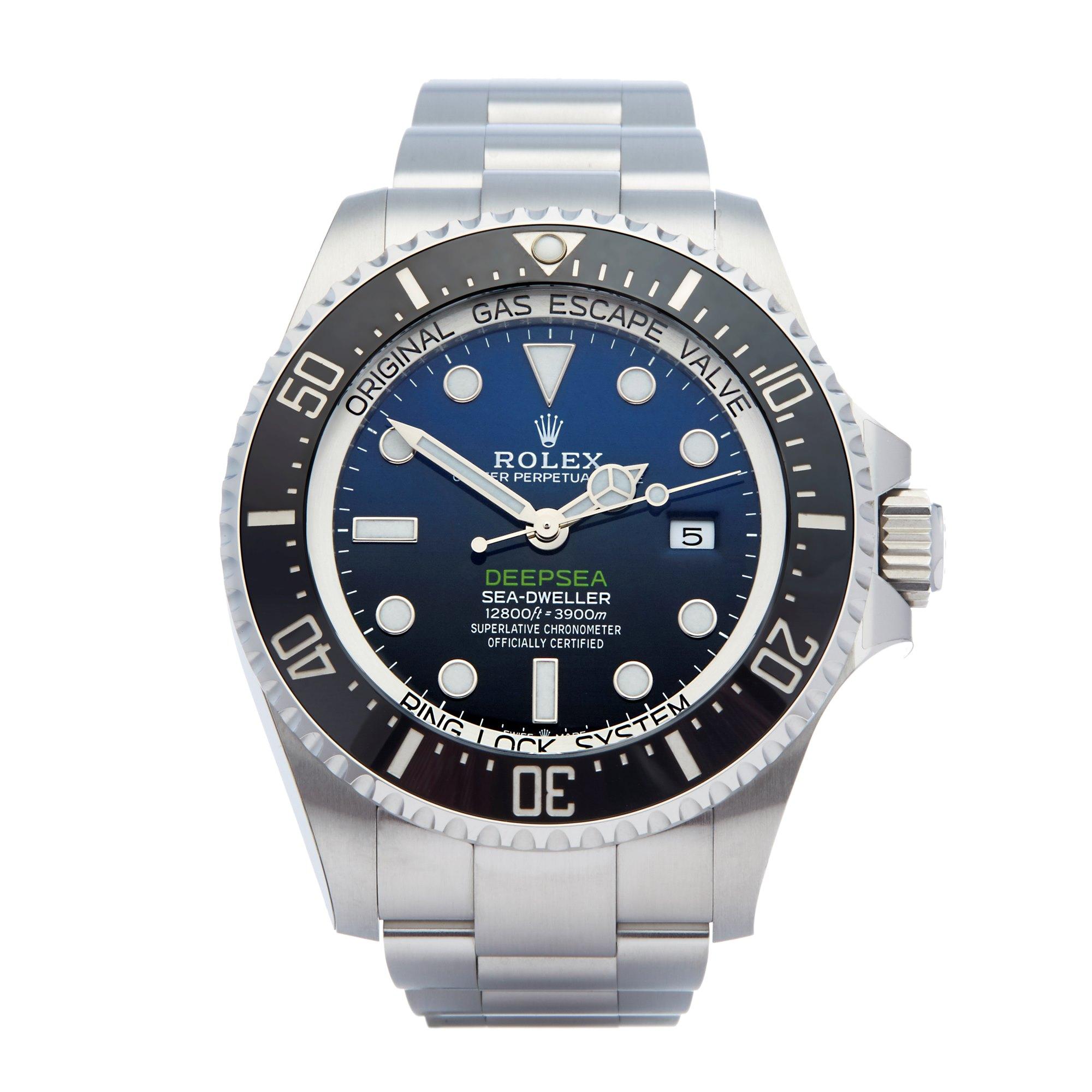 Rolex Sea-Dweller Deepsea James Cameron Stainless Steel 126660