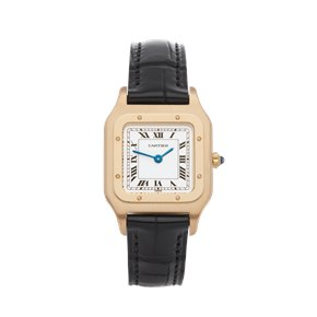 Cartier Santos Dumont Paris 18K Yellow Gold