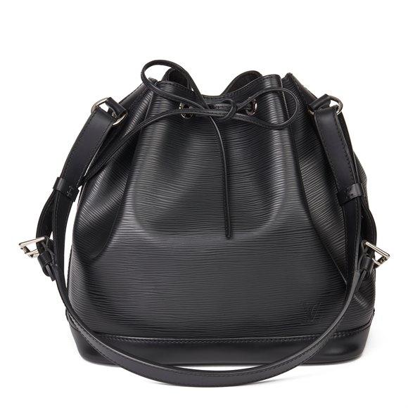 Louis Vuitton Black Epi Leather Petit Noé