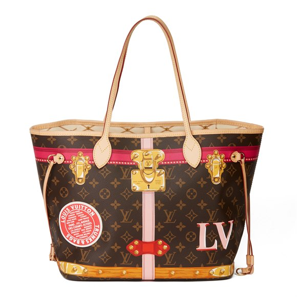 Louis Vuitton Brown Monogram Coated Canvas Summer Trunks Neverfull MM