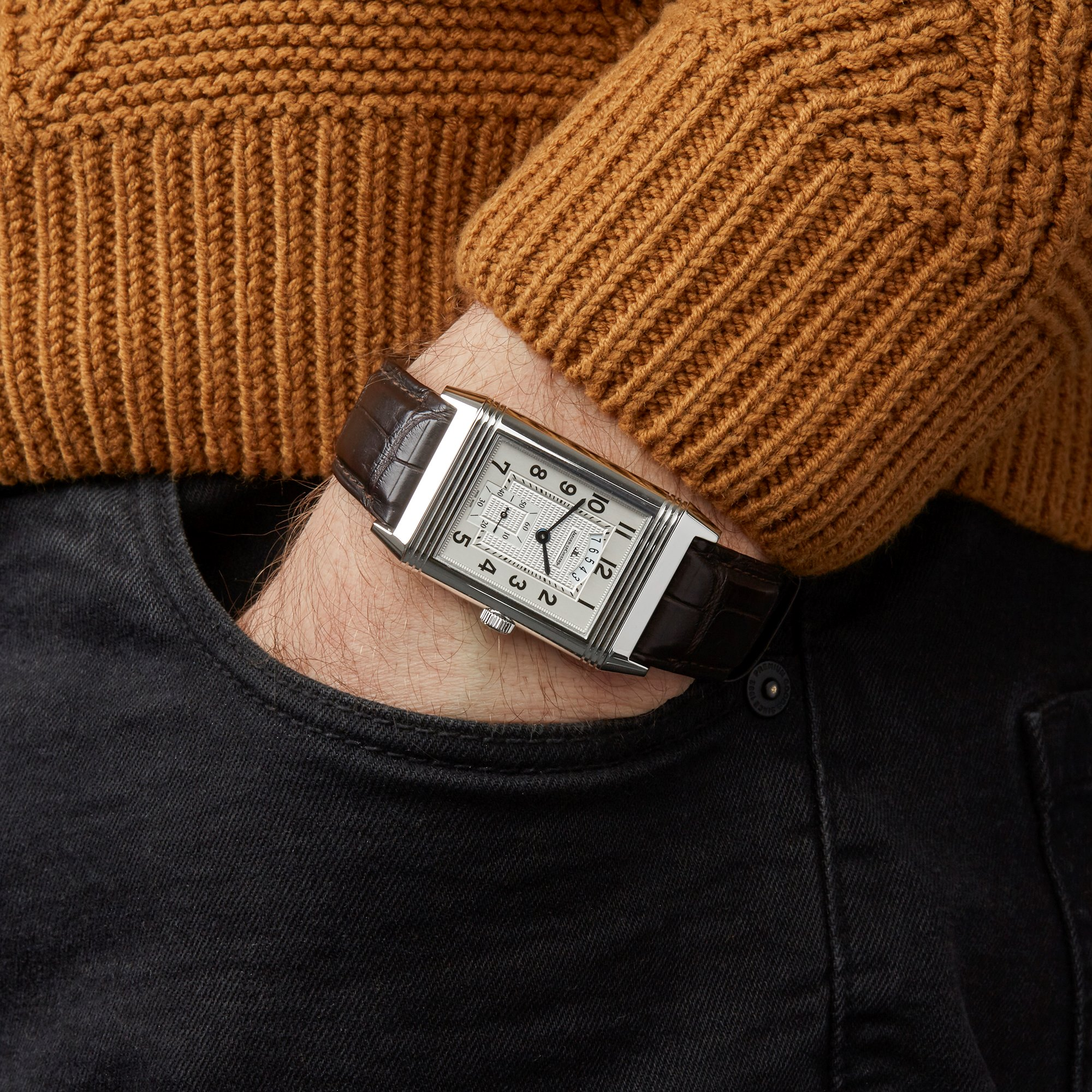 Jaeger-LeCoultre Reverso Duoface Stainless Steel 273.8.85