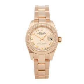 Rolex Datejust 26 18K Rose Gold - 179175