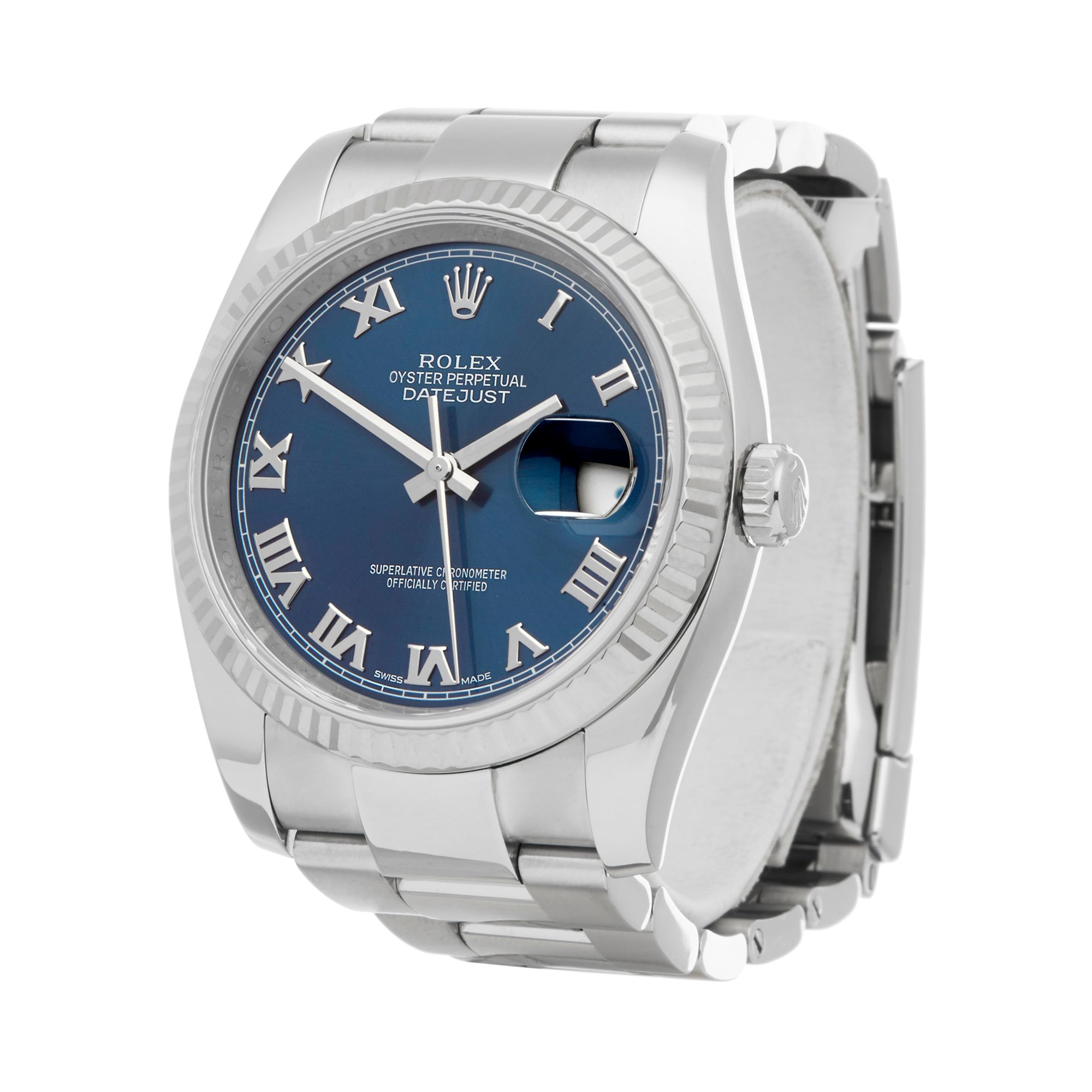 Rolex Datejust 36 Roestvrij Staal 116234