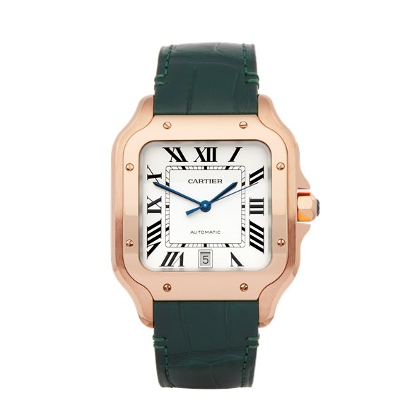 Cartier Santos De Cartier 18K Rose Gold - WGSA0011 or 4071