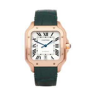 Cartier Santos De Cartier 18K Rose Gold - WGSA0011 or 4071