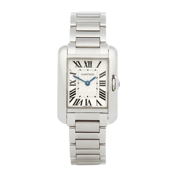 Cartier Tank Anglaise Stainless Steel - 3485