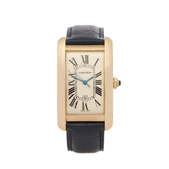 Cartier Tank Americaine 18K Yellow Gold - 1740 or W2603156