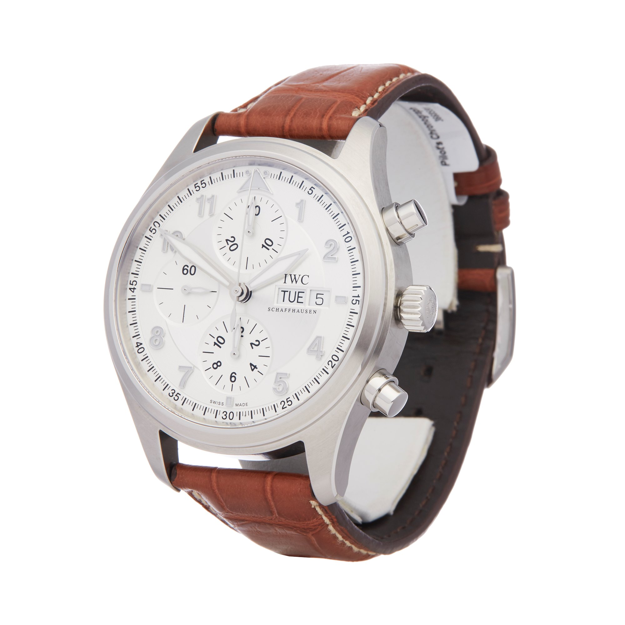 IWC Pilot's Chronograph Spitfire Chronograph Stainless Steel IW371702