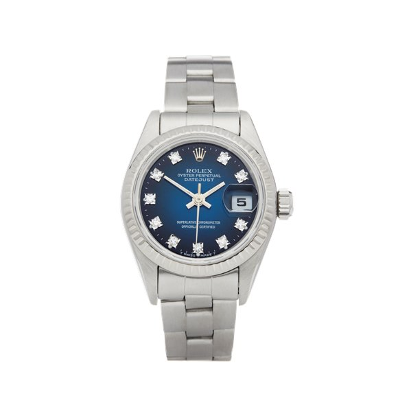 Rolex Datejust 26 Graduated Diamond Stainless Steel - 69174