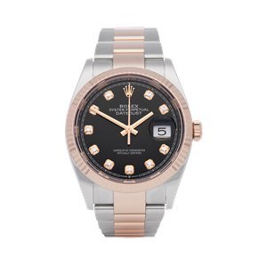 Rolex Datejust 36 Diamond Stainless Steel & Rose Gold - 126231