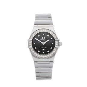 Omega Constellation Diamond Stainless Steel - 1465.51.00
