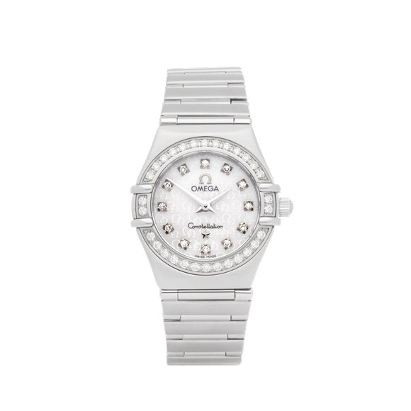 Omega Constellation Diamond Stainless Steel - 1460.75