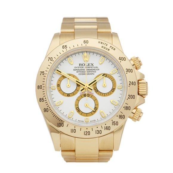 Rolex Daytona Chronograph NOS 18K Yellow Gold - 116528