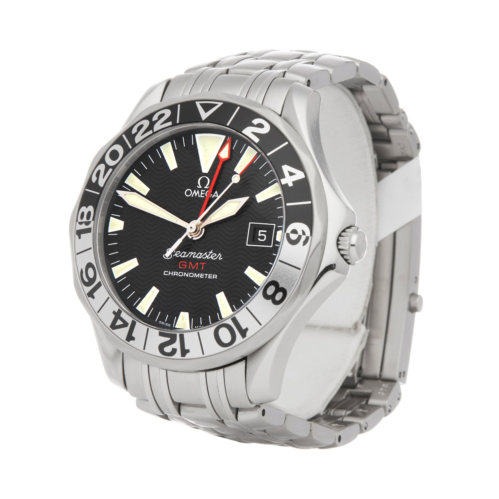 Omega Seamaster GMT Stainless Steel 2234.50