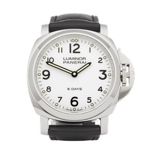 Panerai Luminor Base 8 Days Stainless Steel - PAM00561