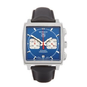 Tag Heuer Monaco Chronograph Stainless Steel - CW2113-0