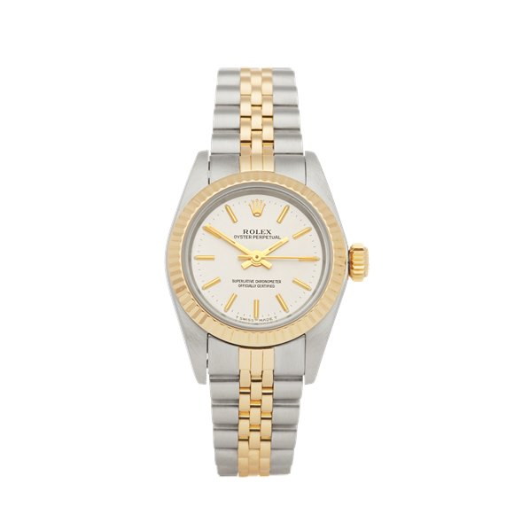Rolex Oyster Perpetual 24 Stainless Steel & Yellow Gold - 67193