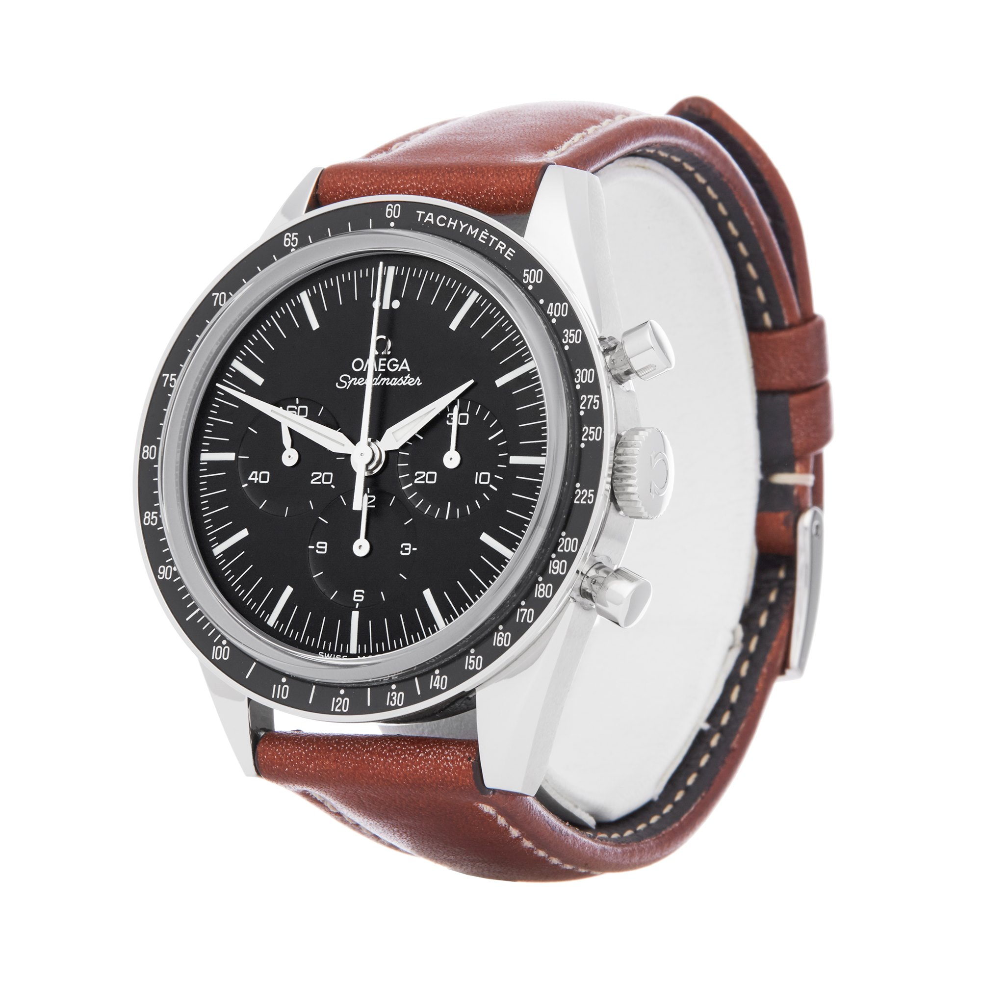 Omega Speedmaster No.6327 Chronograph Moonwatch Numbered Edition Stainless Steel 311.31.40.30.01.001