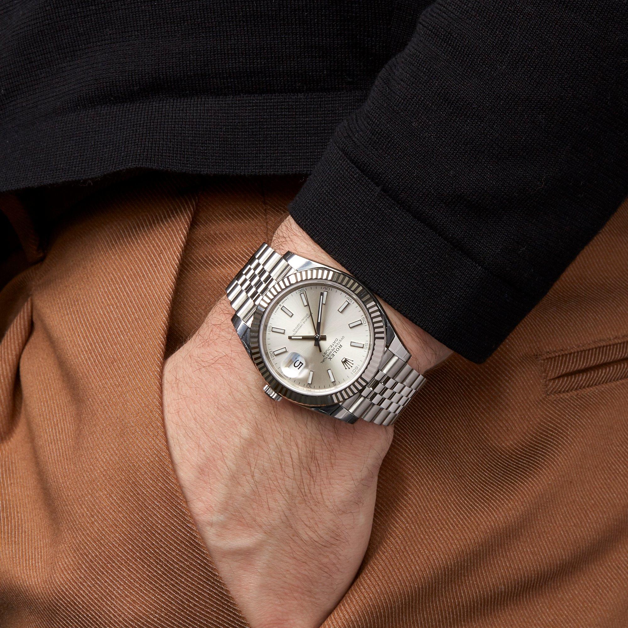 Rolex Datejust 41 Stainless Steel 126334