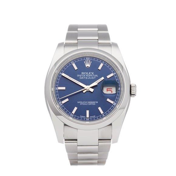 Rolex Datejust 36 NOS Stainless Steel - 116200