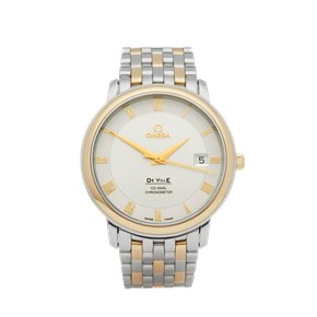 Omega De Ville Stainless Steel & Yellow Gold - 4374.31.00