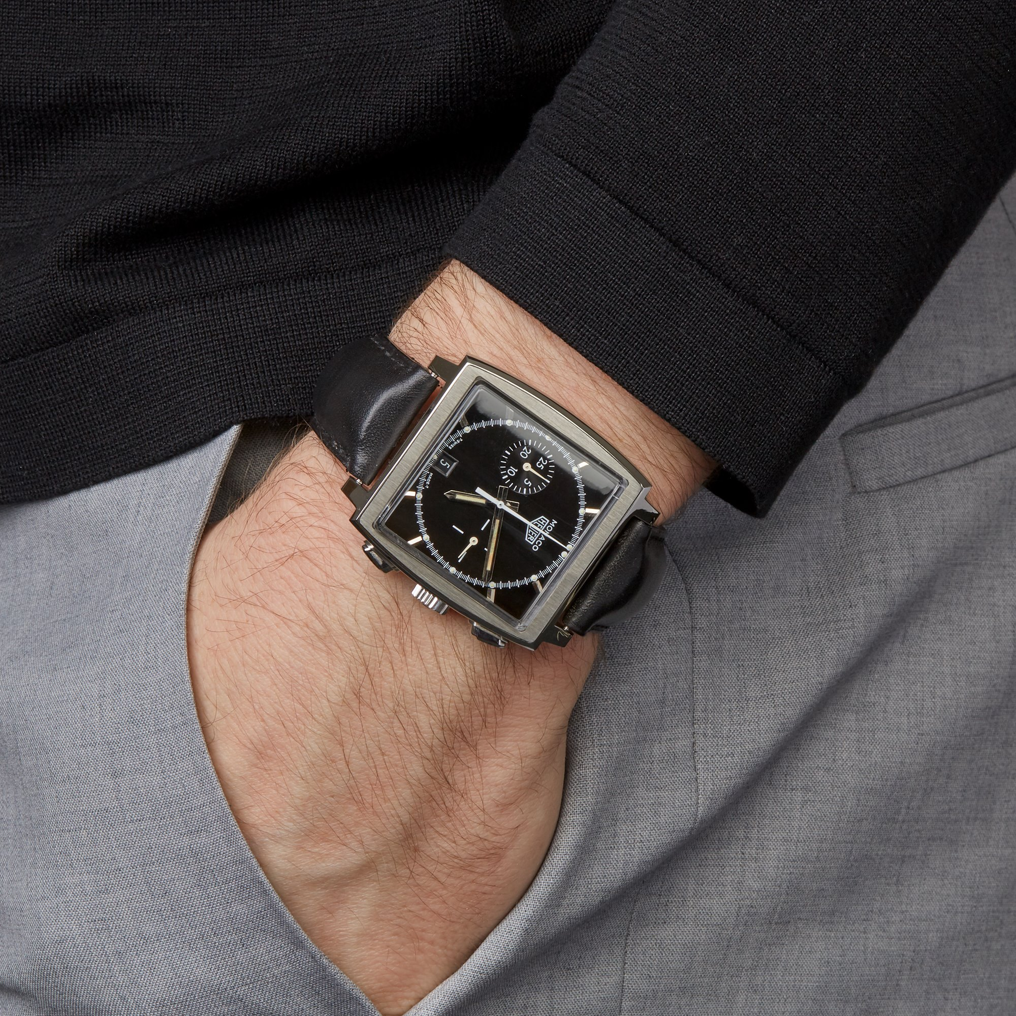 Heuer Monaco Chronograph Stainless Steel CS2110