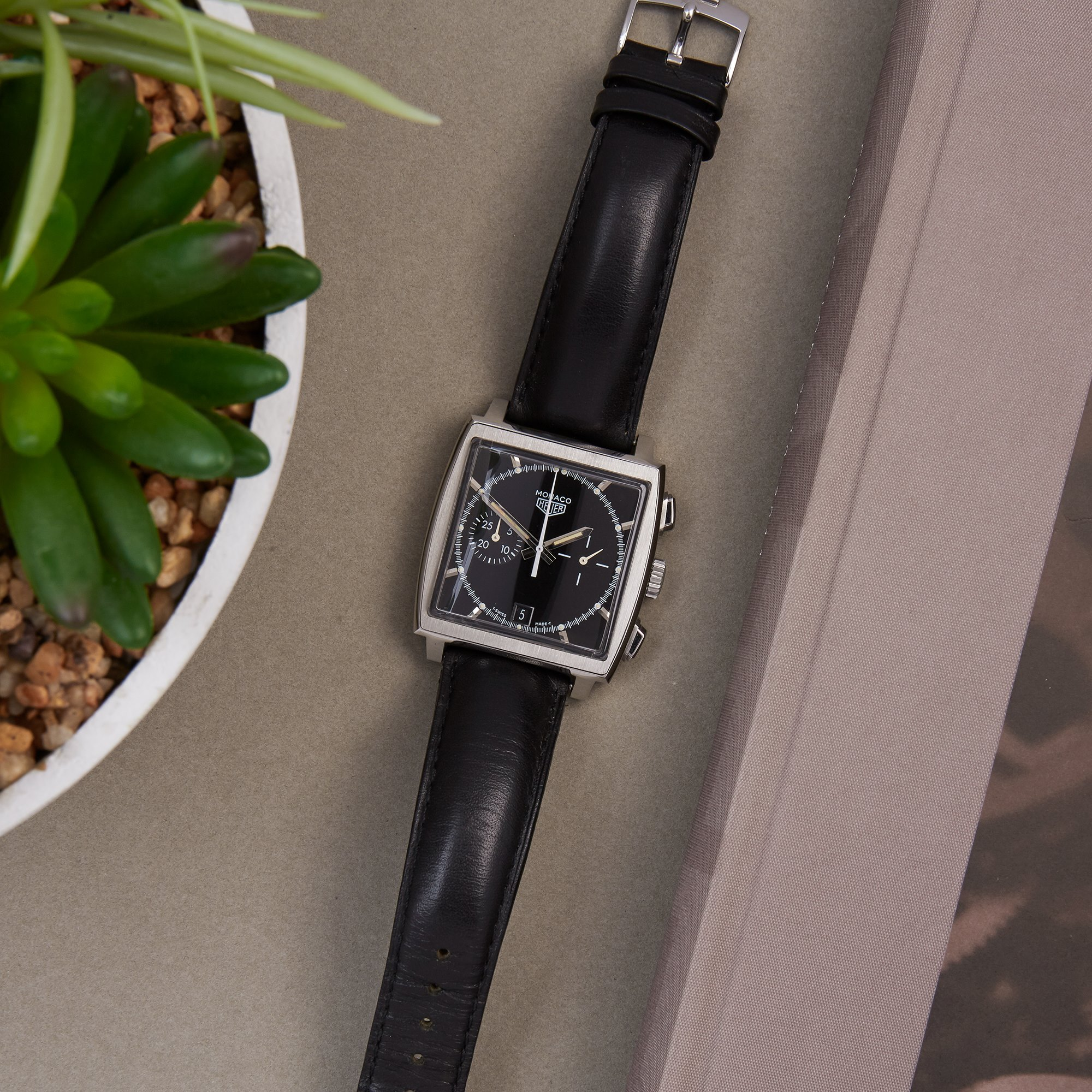 Heuer Monaco Limited Edition 5000 Pieces Roestvrij Staal CS2110
