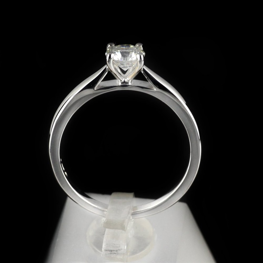 18k White Gold 0.55 cts G VS1 Diamond Ring